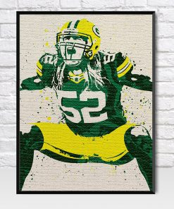 Clay Matthews Packers Poster