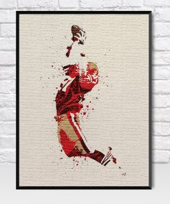 Dwight Clark The Catch Poster