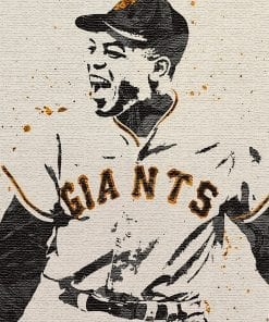 Willie Mays poster