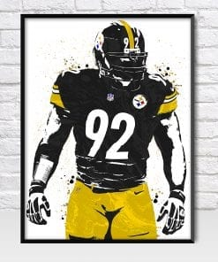 James Harrison Pittsburgh Steelers Poster