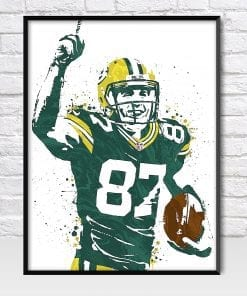 Jordy Nelson Green Bay Packers Poster