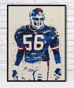 Lawrence Taylor New York Giants poster
