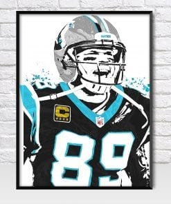 Steve Smith Panthers Poster