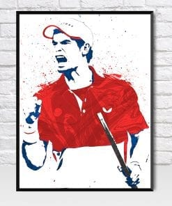 Andy Murray Tennis Poster