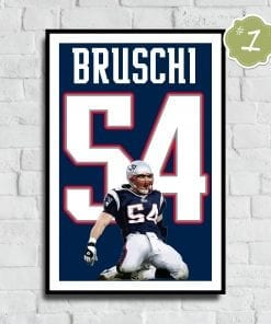 Stephon Gilmore Jersey Number Poster - Fan Art Poster