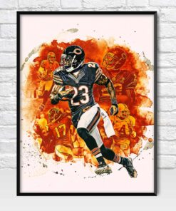 Devin Hester Chicago Bears Wide Receiver Poster