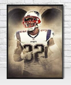 Devin McCourty New England Patriots Safety Poster