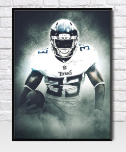 Dion Lewis Tennessee Titans Poster