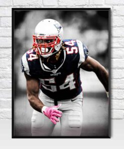Dont'a Hightower New England Patriots Linebacker Poster
