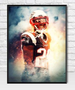 James White New England Patriots Running Back Poster