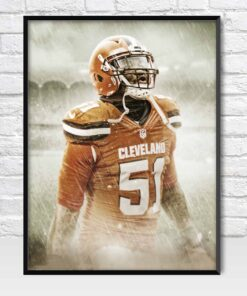 Jamie Collins Cleveland Browns Poster