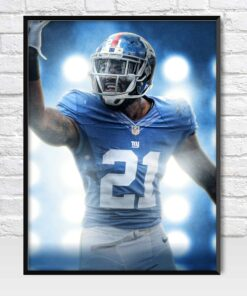 Landon Collins New York Giants Safety Poster