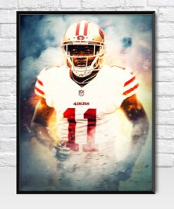 Marquise Goodwin San Francisco 49ers Poster