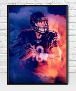 Mitchell Trubisky Chicago Bears Poster