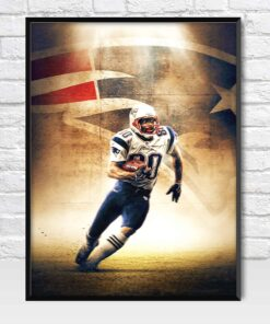 Troy Brown New England Patriots Wide Receiver Poster