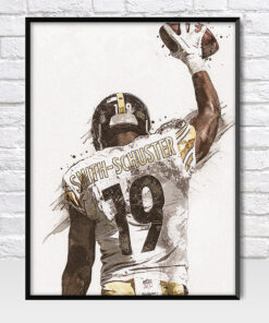 JuJu Smith-Schuster Pittsburgh Steelers Poster