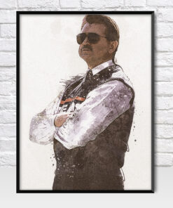 Mike Ditka Chicago Bears Poster