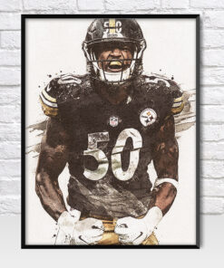 Ryan Shazier Pittsburgh Steelers Poster