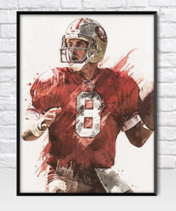 Steve Young San Francisco 49ers Poster